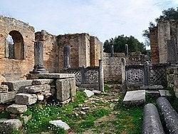 Olimpia, restos arqueológicos