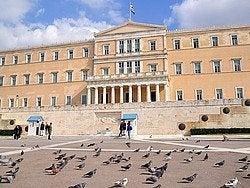 Plaza Sintagma, Parlamento de Grecia