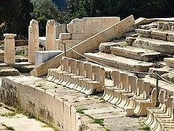 Teatro de Dioniso, asientos