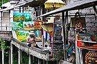 Compras en Bali, tienda de cuadros