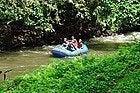 Haciendo rafting en el río Ayung