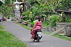 Transporte en Bali, la moto