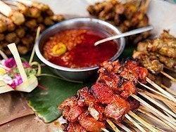 Comida típica Bali, Saté