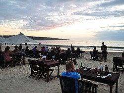 Jimbaran y sus restaurantes en la playa