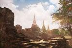 Excursión a Ayutthaya con crucero por el río