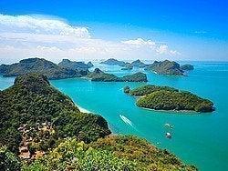 Parque Natural Ang Thong, en Ko Samui