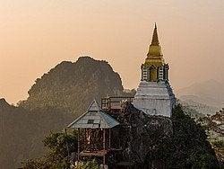 Lampang, templo Chalermprakiat