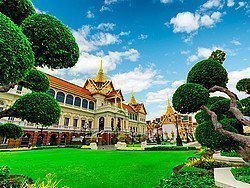 Historia de Bangkok, Palacio Real