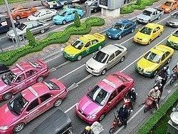 Transporte Bangkok: Taxis