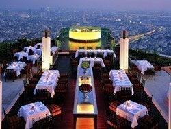 Restaurante Sirocco de Bangkok