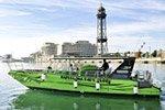 Paseo en barco por las playas de Barcelona