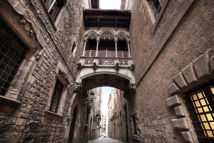 Barcelona Cathedral Barrio Gótico