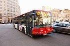 Autobús recorriendo Barcelona