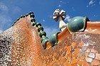 Casa Batlló, tejado