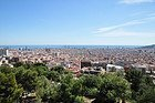 Park Güell, views from the Calvario