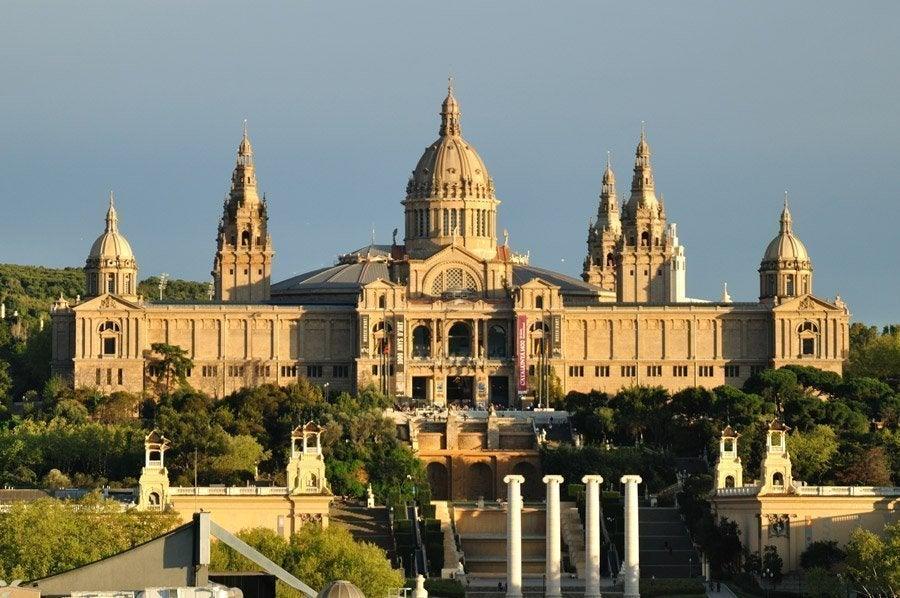 Palacio Nacional, sede del Museo de Arte de Cataluña.