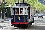Tram Blu di Barcellona
