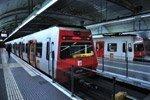 Trenes de cercanías en Barcelona