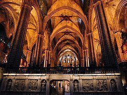 Catedral de Barcelona, interior