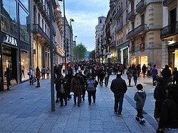Shopping in Barcelona, Portal del Angel