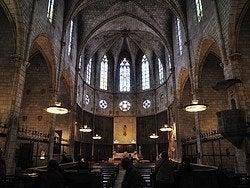 Monasterio de Pedralbes, iglesia
