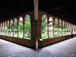 Monasterio de Pedralbes, claustro