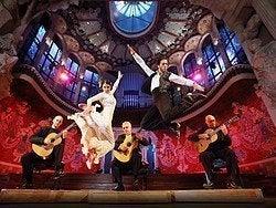 Espectáculo en el Palau de la Música Catalana