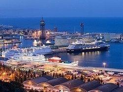 Puerto de cruceros de Barcelona