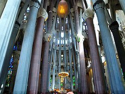 Sagrada Familia, inside