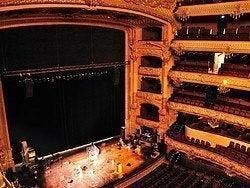 Teatro Liceo, interior