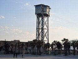 Teléferico de Barcelona, Torre de San Sebastián