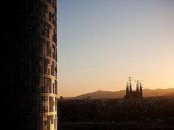 Torre Agbar y Sagrada Familia
