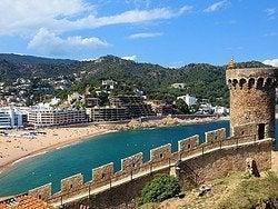 Tossa de Mar desde su fortaleza