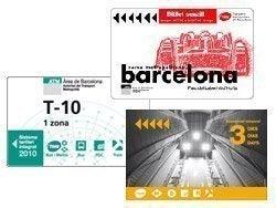 Billetes y abonos de transporte de Barcelona