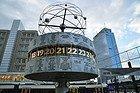 Alexanderplatz, Relógio Mundial