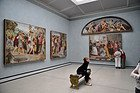 Antigua Galeria Nacional, cuadros
