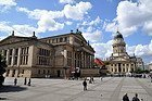 Konzerthaus e Iglesia Francesa