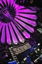 Potsdamer Platz, Sony Center