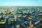 Torre de la Televisión de Berlin, vistas