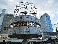 Alexanderplatz, Reloj Mundial