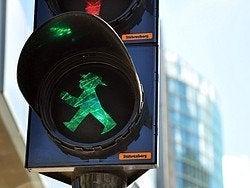 Ampelmännchen, el hombrecillo de los semaforos de Berlin