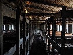 Campo de Concentracion de Sachsenhausen, barracones