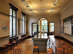 Casa de la Conferencia Wannsee, sala donde se decidio la Solucion Final