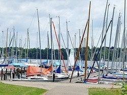 Lago de Wannsee, uno de los más cercanos a Berlín