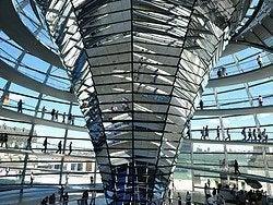 Cupula del Parlamento de Berlin