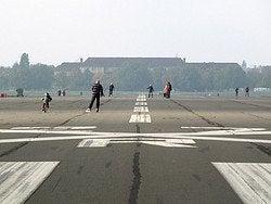 Aeropuerto de Tempelhof, parque