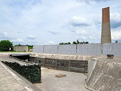 Campo de Concentracion de Sachsenhausen, paredón de Fusilamiento
