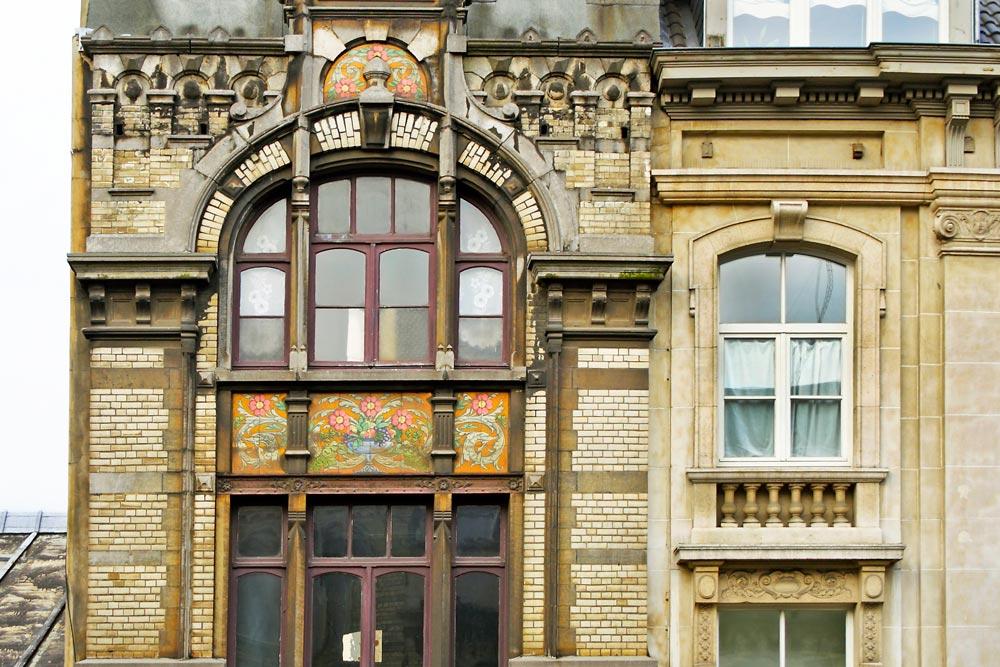Fachada de estilo Art Nouveau