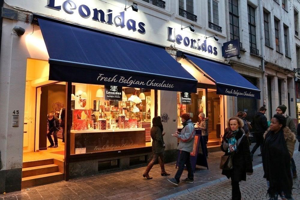 Leonidas, una de las marcas de chocolate belga más vendidas