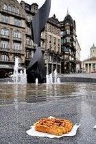 Gofre en Bruselas